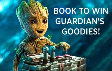 Win Guardian's of the Galaxy Vol 2 Goodies!